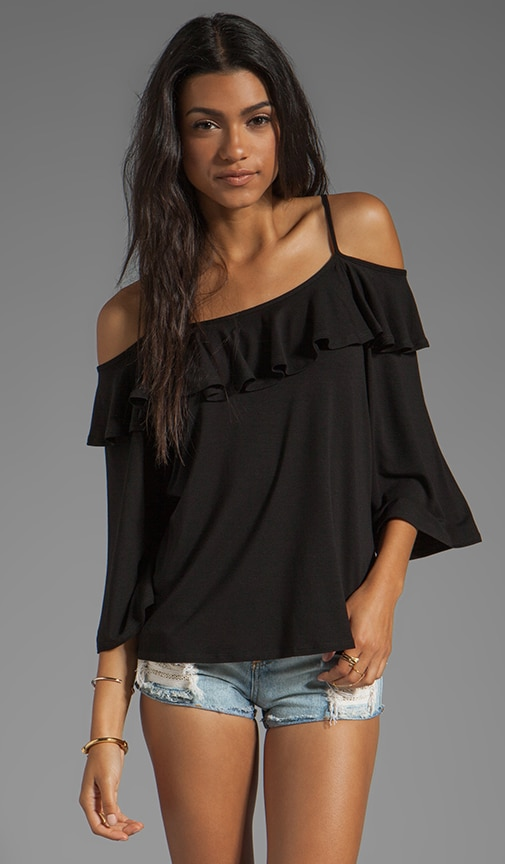 Natalie Open Shoulder Top