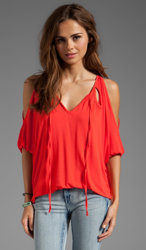 Serena Cut Out Top