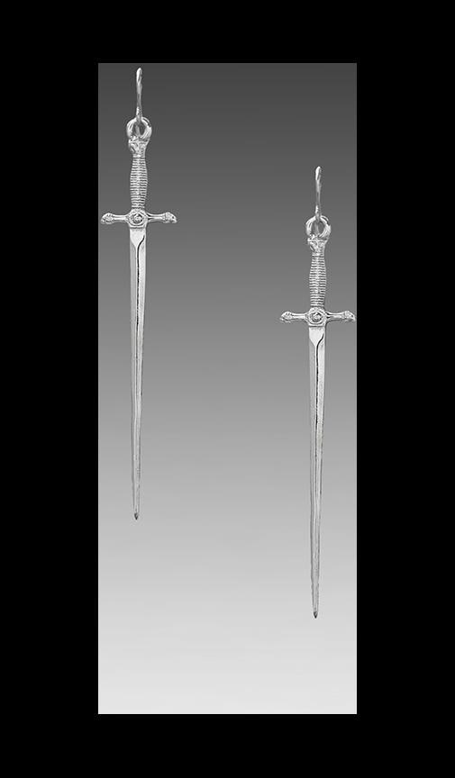 Vanessa Mooney Sonnet Of The Sword Earrings