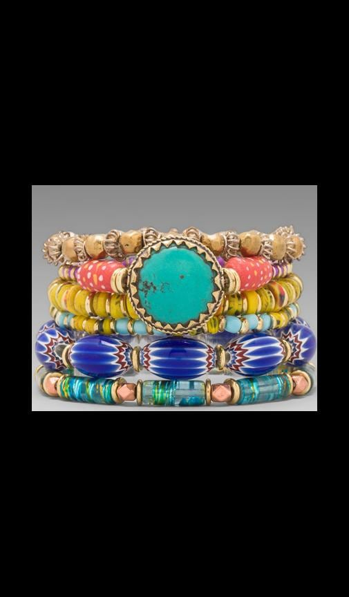 Vanessa Mooney Eye of the Storm Bracelet Set