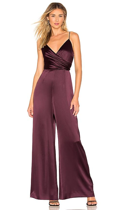 Side Draped Jumpsuit
