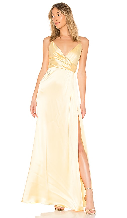 JILL BY JILL STUART WRAP GOWN