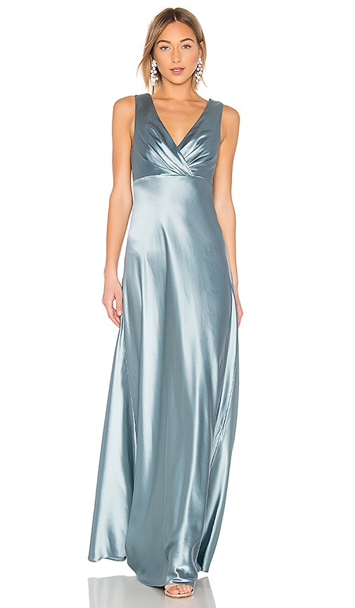 Cross Front Gown