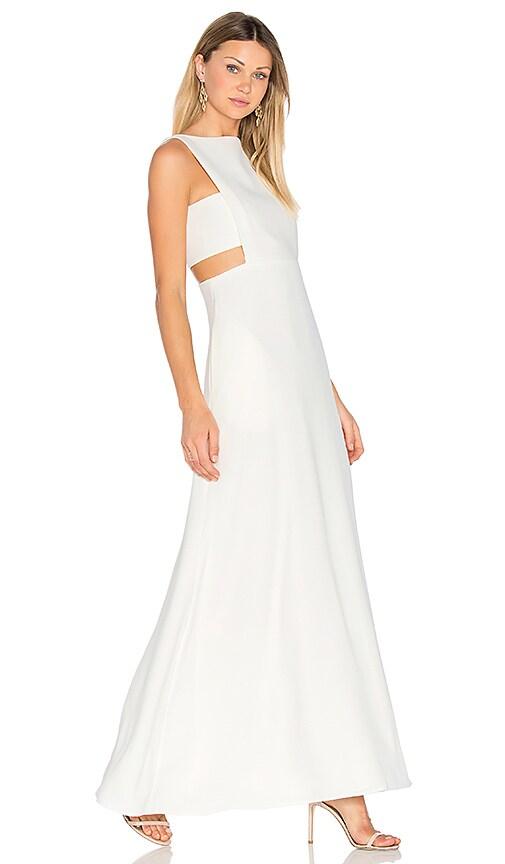 JILL JILL STUART Cut Out Gown in Ivory