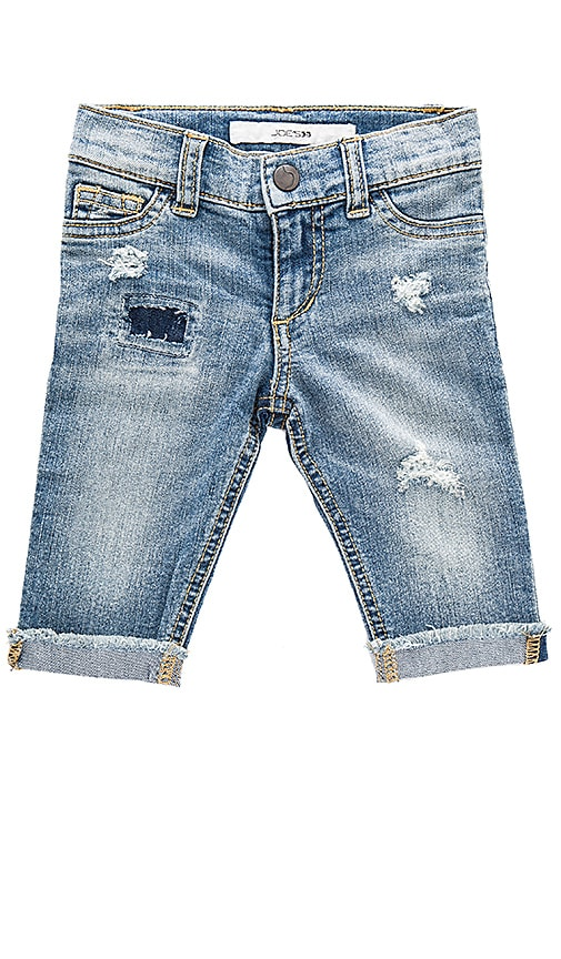 Joe's Jeans Baby Bestfriend Rolled Crop in Blue