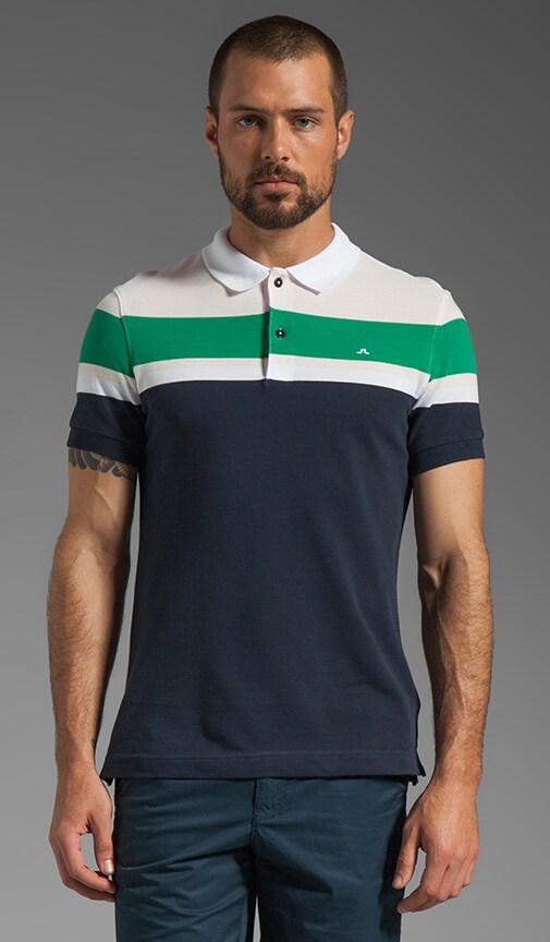 Neilo Stripe Line Pique Polo