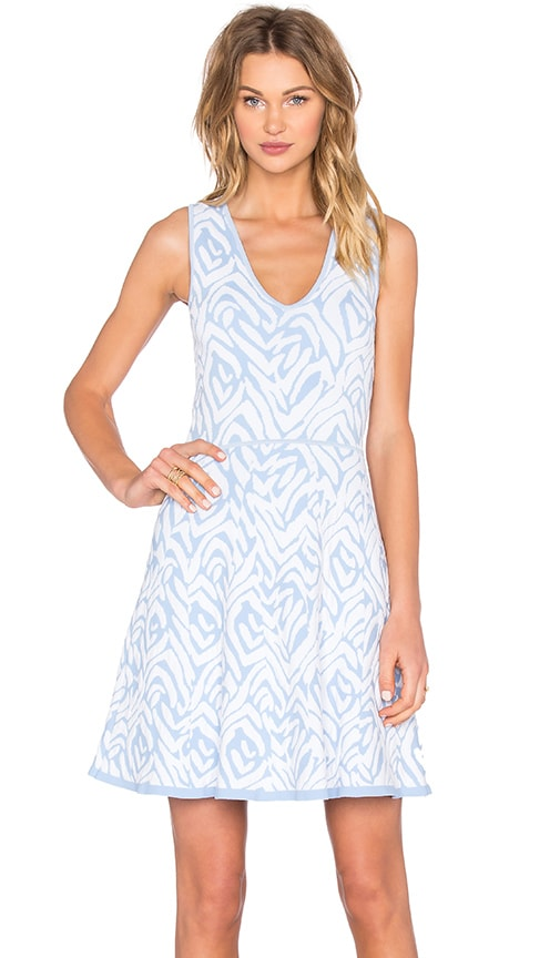 John & Jenn by Line Almina Shift Dress in Baby Blue