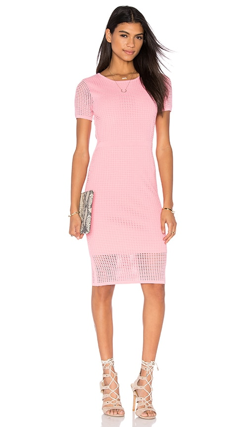 John & Jenn by Line Joyce Midi Dress in Pink