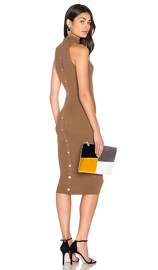 John & Jenn by Line Ilya Sweater Dress in Brown