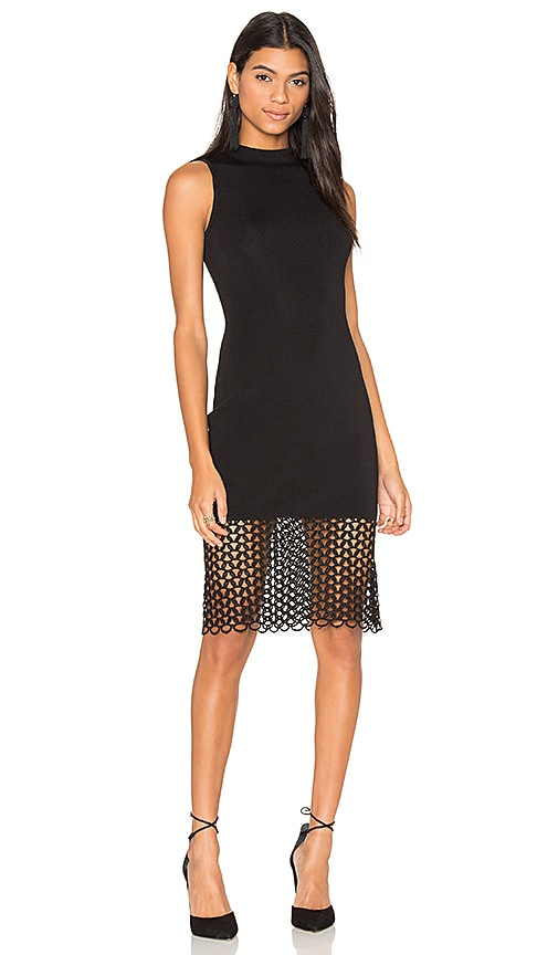John & Jenn by Line Daria Midi Dress in Black