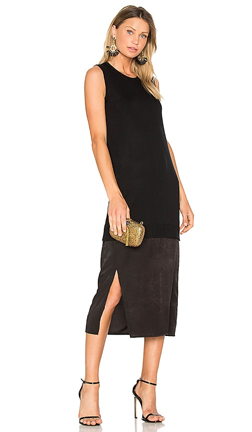 John & Jenn by Line Eva Tank Dress in Black