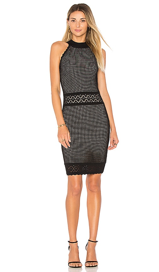 John & Jenn by Line Isabel Bodycon Dress in Black