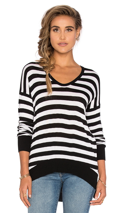 John & Jenn by Line Jeremiah Scoop Neck Sweater in Day & Night