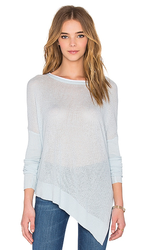 John & Jenn by Line Noah Asymmetric Sweater in Head in Blue
