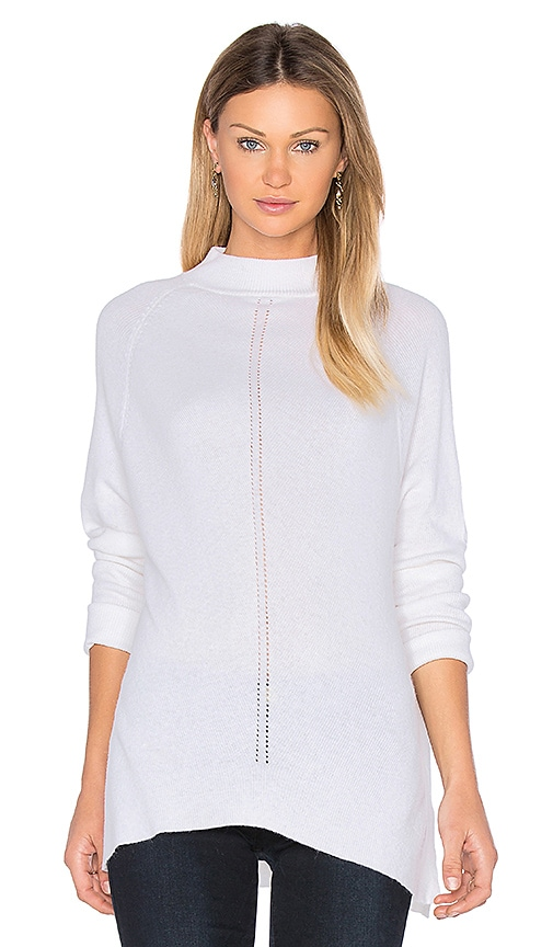 John & Jenn by Line Coral Sweater in Ivory