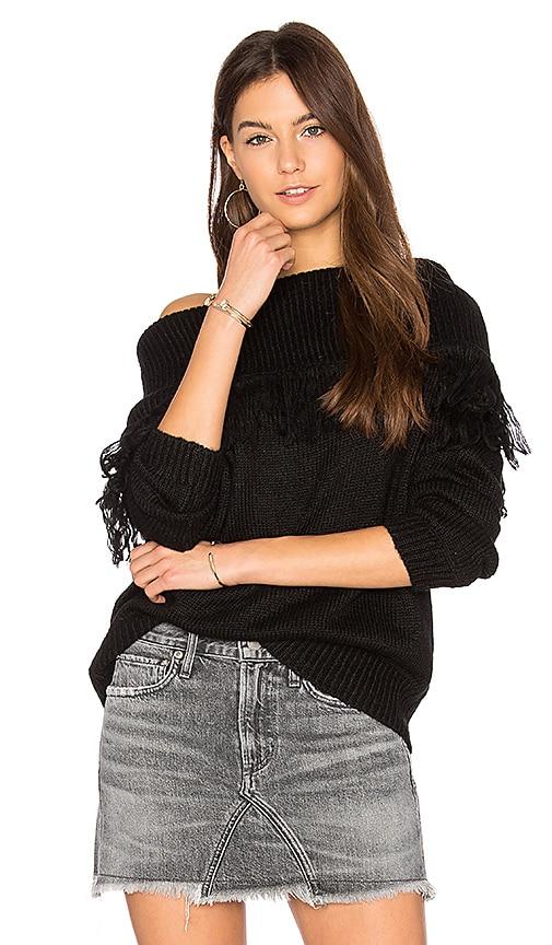 John & Jenn by Line Beau Sweater in Black