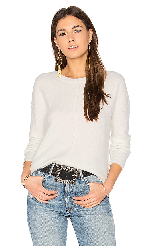 John & Jenn by Line Cicely Sweater in White