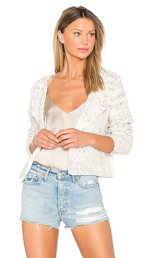 John & Jenn by Line Adriana Cardigan in White