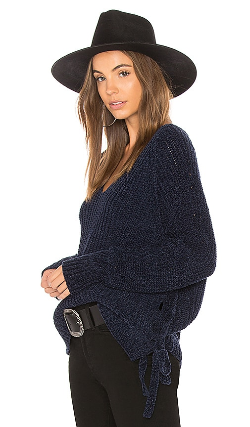 John & Jenn by Line Lola Sweater in Blue