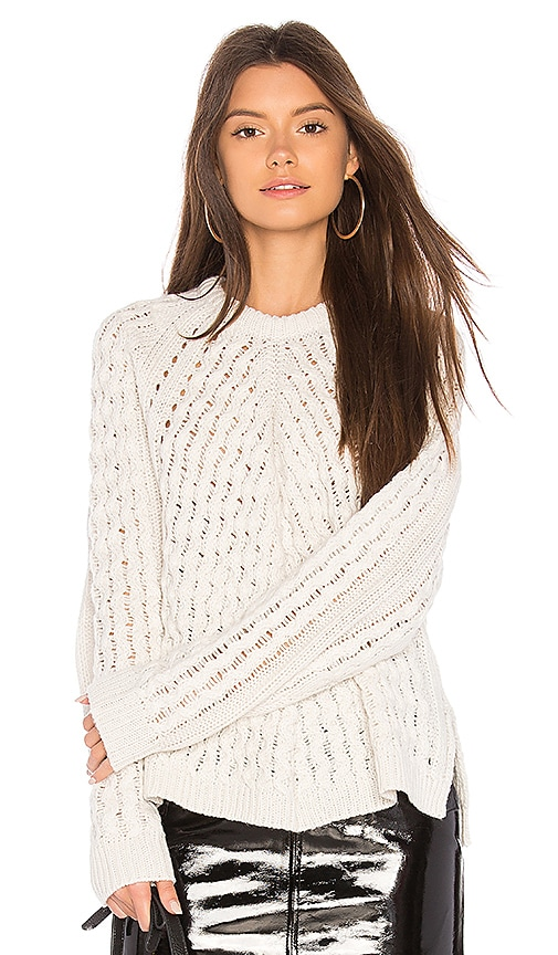 John & Jenn by Line Darcie Sweater in Ivory