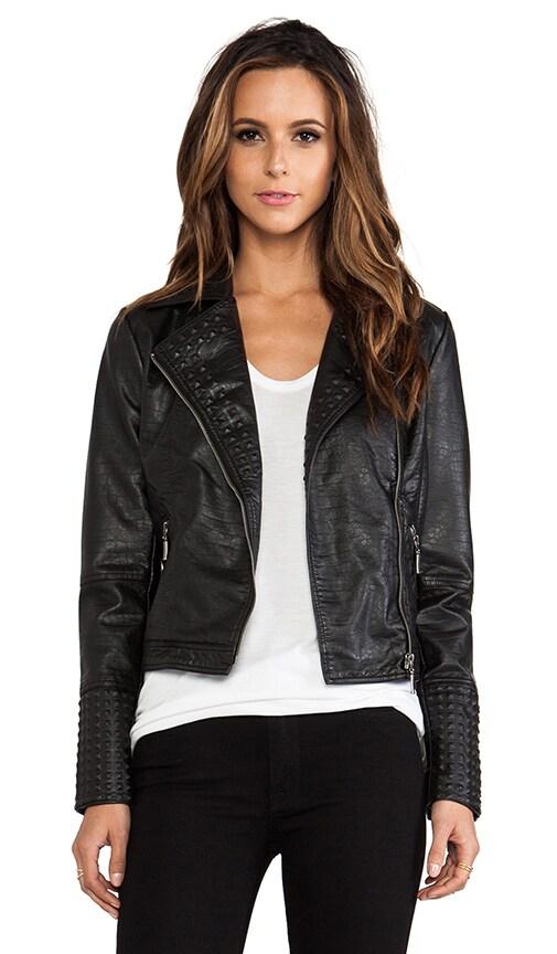 Nyla Rae Vegan Leather Jacket