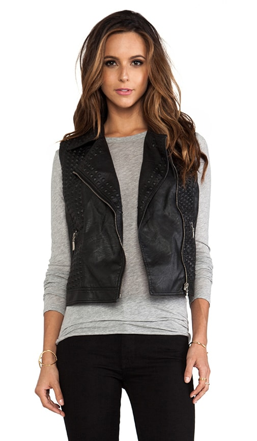 Angelica Vegan Leather Vest