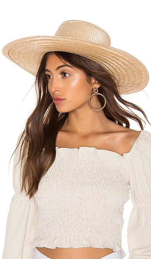 Elsa Boater Hat