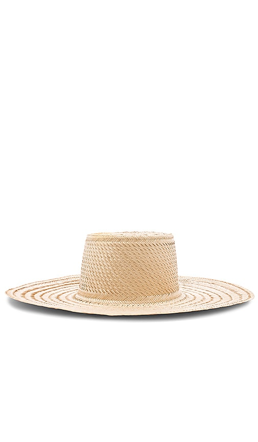 Elsa Boater Hat by Janessa Leone