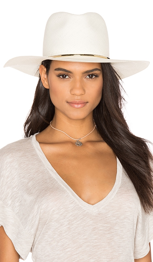 Begonia Wide Brimmed Panama Hat