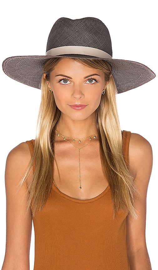 Dahlia Wide Brimmed Panama Hat