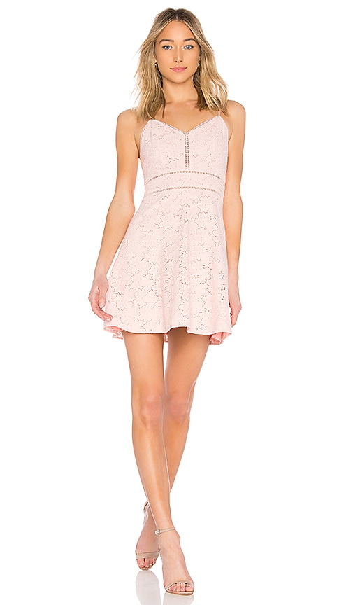 J.O.A. Sleeveless Mono Dress in Pink