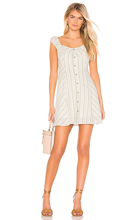 Buttoned Down Mini Dress