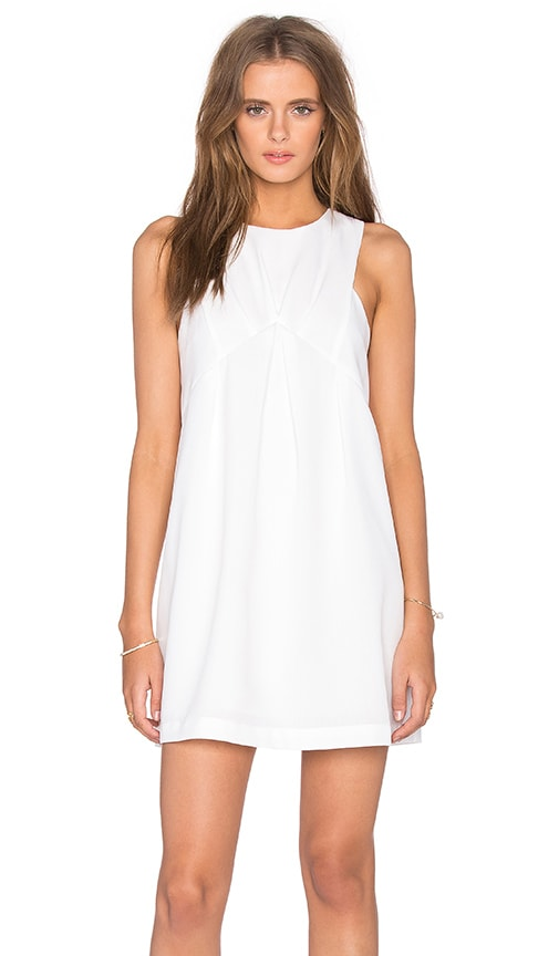 J.O.A. Sleeveless Mini Dress in White