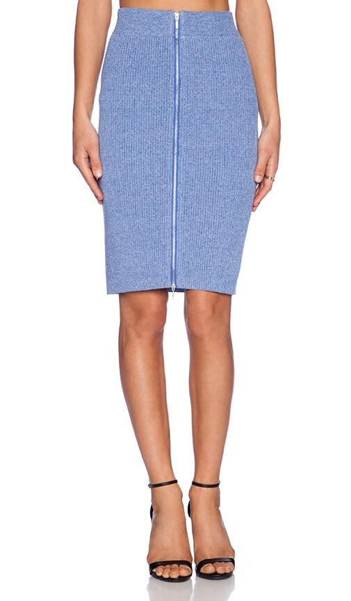 Front Zip Pencil Skirt