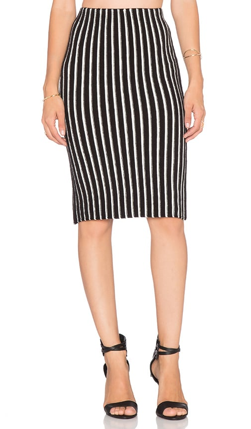 Stripe Pencil Skirt 108