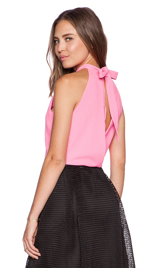 J.O.A. Tank Top in Neon Pink