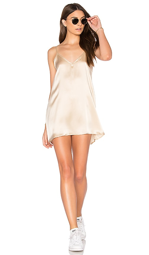 JOAH BROWN Shimmy Dress in Cream
