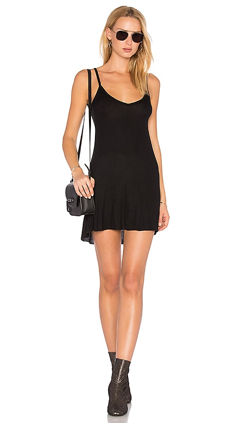 JOAH BROWN Shimmy Dress in Black