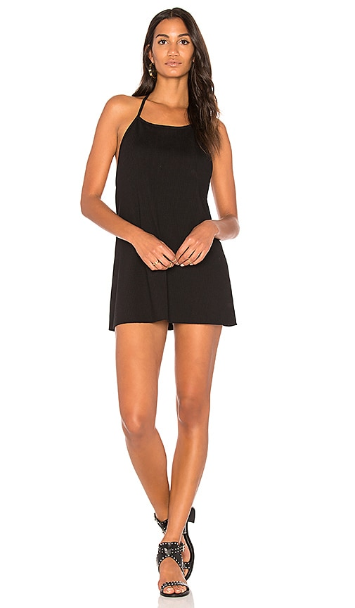 JOAH BROWN Free Me Tank Dress in Black
