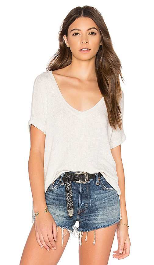 JOAH BROWN Escape Tee in Ivory