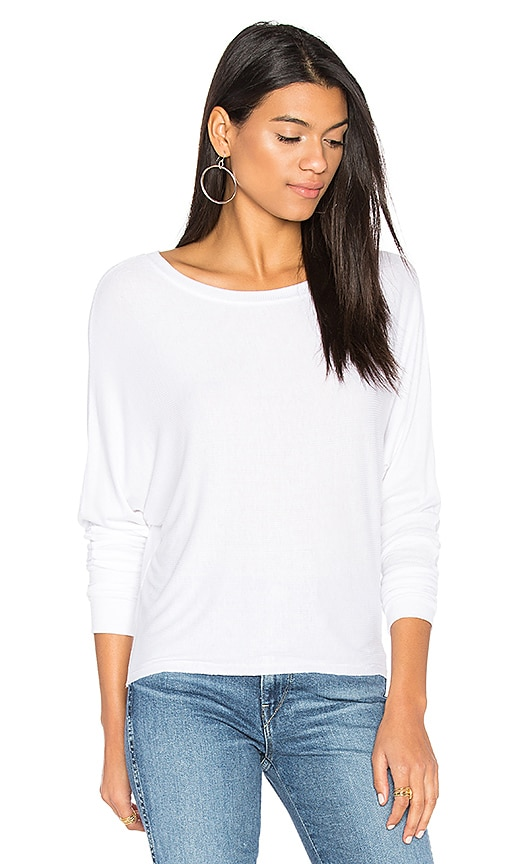 JOAH BROWN Vital Long Sleeve Tee in White