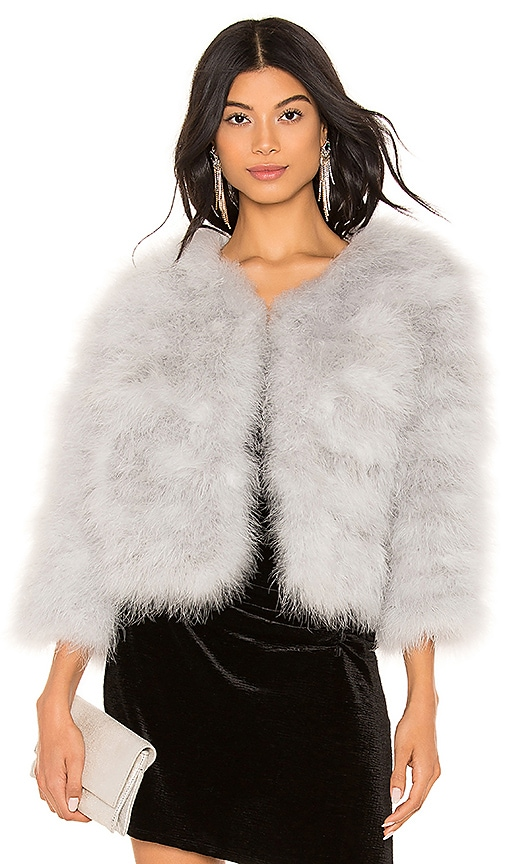 Feather Bolero Jacket