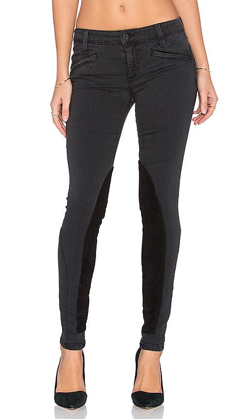 Joe's Jeans Malina Flawless Mustang Ankle Skinny in Faded Black