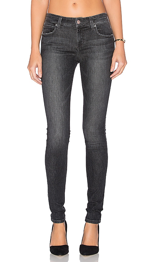Joe's Jeans Shayla Eco Friendly #Hello The Icon Skinny in Faded Black