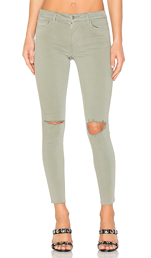 Joe's Jeans The Icon Ankle Skinny in Olive