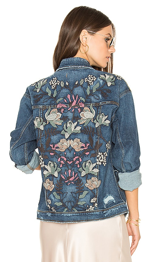Joe's Jeans Bella Jacket in Medium Blue