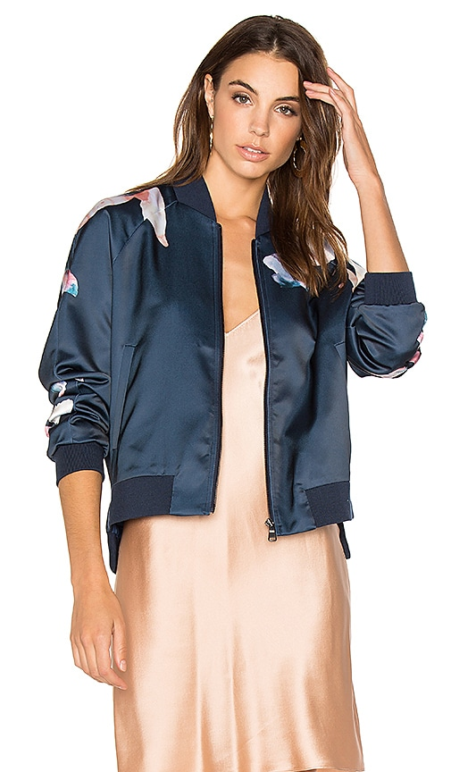 Joe's Jeans Elsie Bomber Jacket in Blue