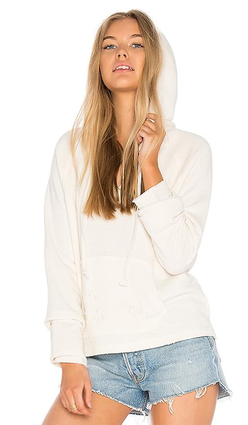 Joe's Jeans Rowen Hoodie in White