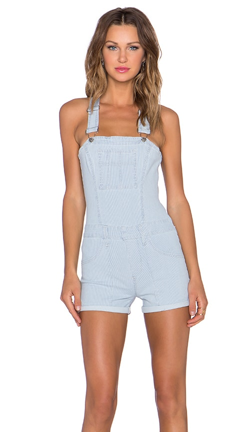 High Rise Short Overall