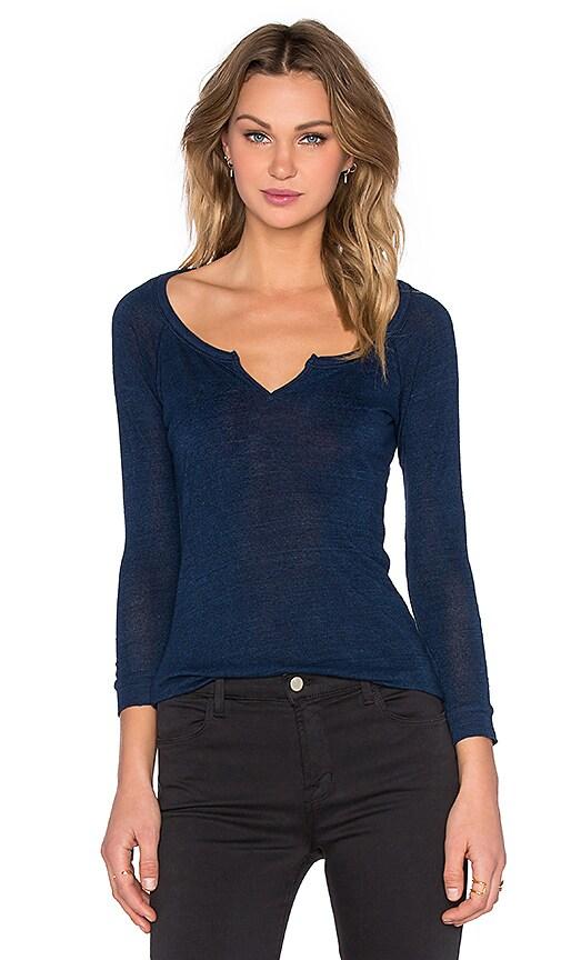 Joe's Jeans Indigo Jersey Reynie Tee in Blue